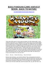 buku panduan game harvest moon back to nature - [www.downloadpermainankomputer.blogspot.com].pdf