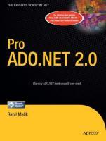 Pro ADO .NET 2.0.pdf