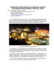 ARTICULO 3: Diagnóstico estructural del colapso del parque de agua de Moscú