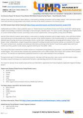 An Extensive Report On Gerotor Pump Market 2018 Global Analysis.pdf