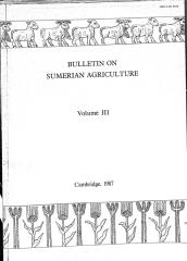 Bulletin on Sumerian agriculture 1987-3 willcox george.pdf