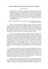 A Imprescindibilidade de Bases Meta-Éticas Teológicas para a Moralidade -Craig.docx