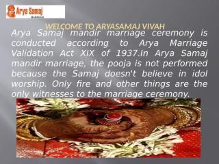 Arya Samaj Marriage in Noida.pptx