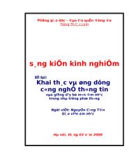SKKN Am nhac Cat Linh CNTT.doc
