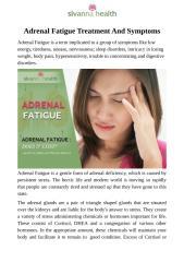 Adrenal Fatigue Treatment And Symptoms.pdf