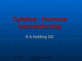 cytokines.ppt