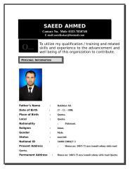 saeed cv.doc