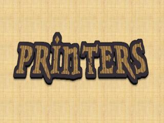 Printers Presentation -Rafeh Hameed 9th - F.pptx