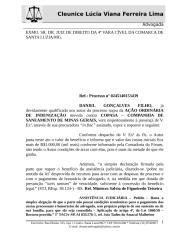 petição inicial ação contra COPASA e juntada comprovante INSS.doc
