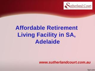 Affordable Retirement_17Aug'2017.pptx