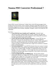 Cara install Nuansa PDF Converter Professional 7